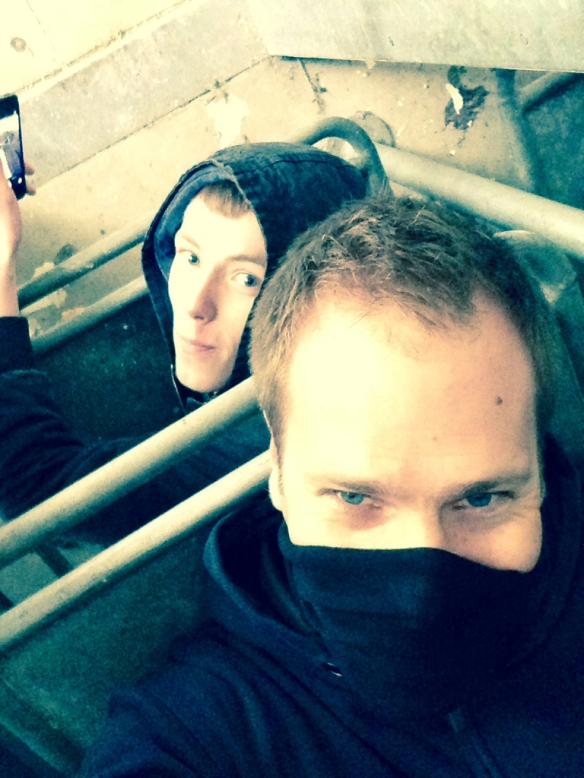 morgue selfie