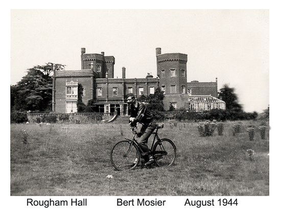 Rougham Hall - archive - bike
