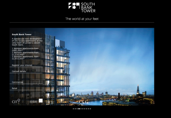 South Bank Tower for sale
