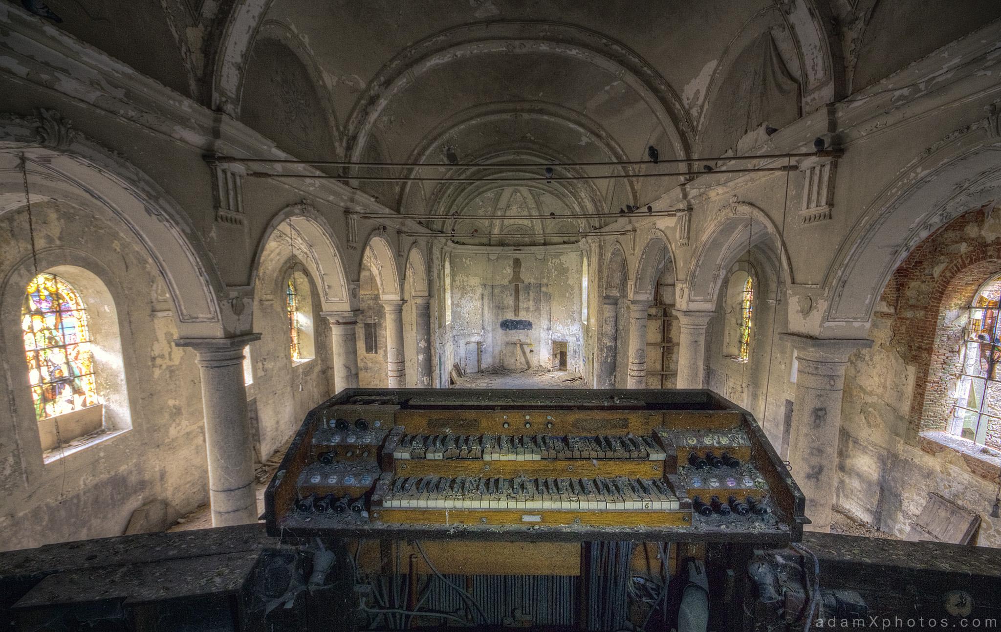 explore  46  eglise sv  aka church of bones  belgium