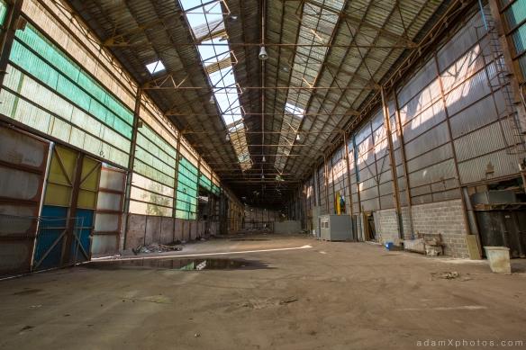 Entrepôt de Bangers - main hangar