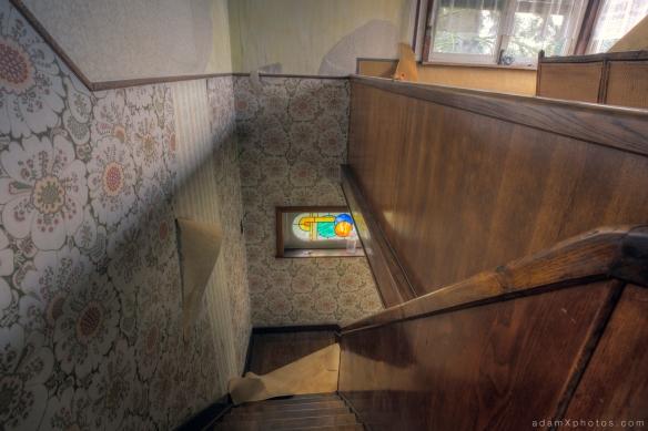 Maison l'oiseau bleu - stairs