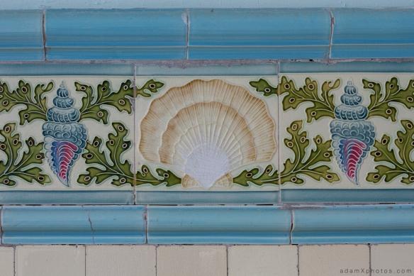 Adam X Alla Italia Belgium Urbex Urban Exploration tiles detail tiling