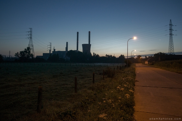 Urbex Urban Exploration Powerplant Gigawatt XL Cloud Factory external outside