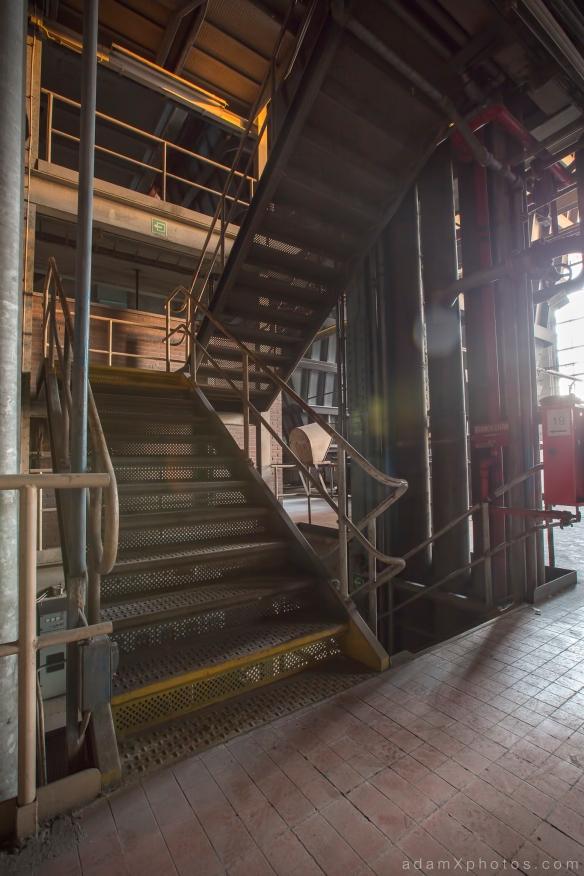 Urbex Urban Exploration Powerplant Gigawatt XL Cloud Factory stair staircase