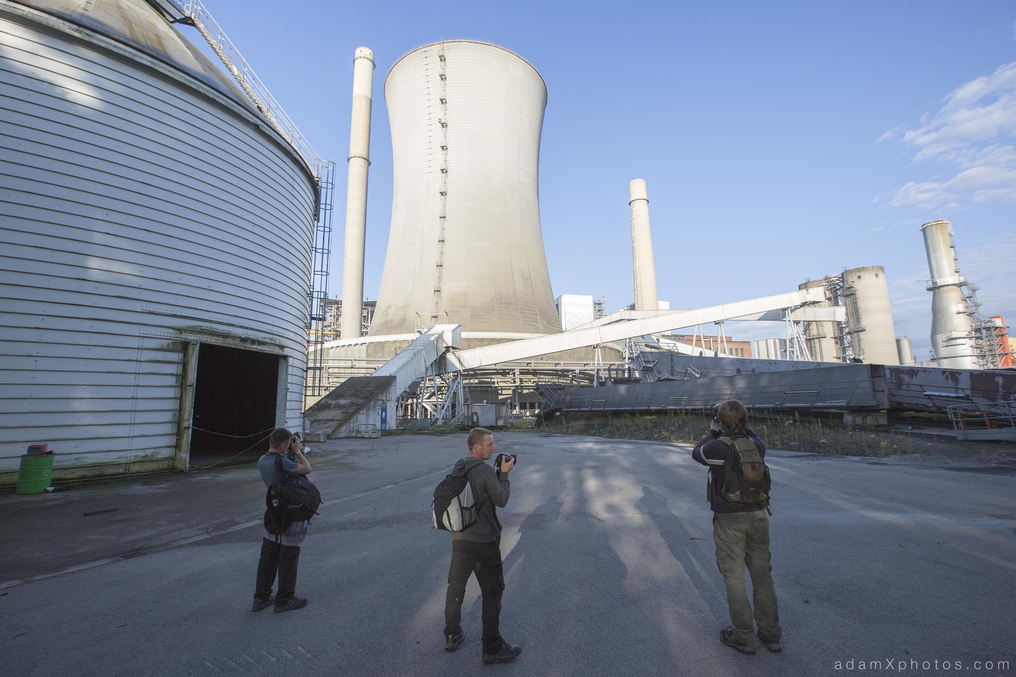 Urbex Urban Exploration Powerplant Gigawatt XL Cloud Factory external exterior cooling tower