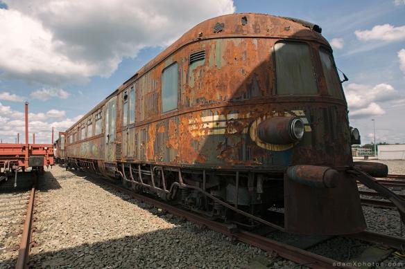 Adam X Urbex Urban Exploration Orient Express external
