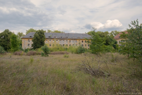 Adam X Urbex Urban Exploration Abandoned Germany Wunsdorf barracks external building