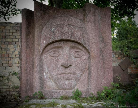 Adam X Urbex Urban Exploration Abandoned Germany Wunsdorf barracks statue