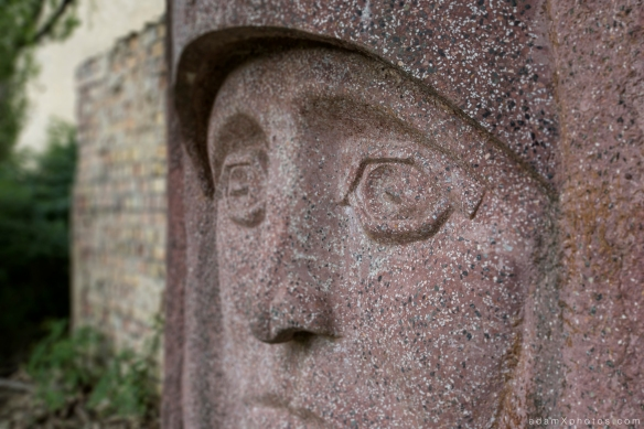 Adam X Urbex Urban Exploration Abandoned Germany Wunsdorf statue detail