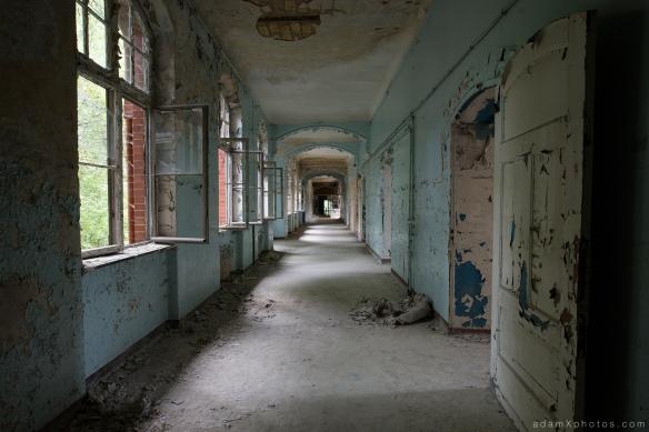 Adam X Urbex Beelitz Heilstatten Germany Urban Exploration Mens Men's Sanatorium Hospital Decay Lost Abandoned Hidden