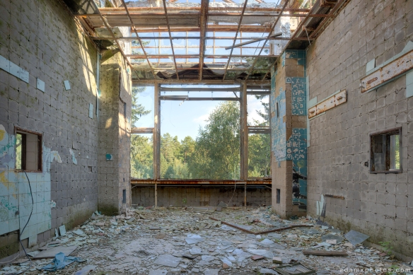 Adam X Urbex Beelitz Heilstatten Germany Urban Exploration Lung clinic Sanatorium Hospital Decay Lost Abandoned Hidden