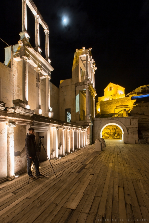 Bulgaria Plovdiv Roman Amphitheatre Philippopolis Greek theatre Urbex Adam X Urban Exploration photo photos report UE MrDan Explores