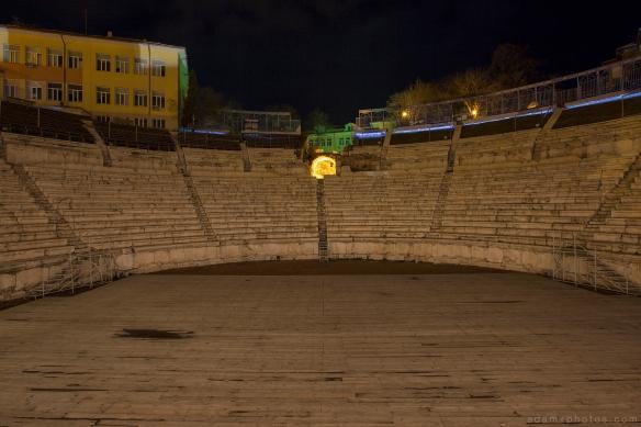 Bulgaria Plovdiv Roman Amphitheatre Philippopolis Greek theatre Urbex Adam X Urban Exploration photo photos report UE