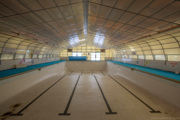 Swimming pool RAF Coltishall urbex urban exploration Adam X photos photographs photography report abandoned disused derelict forgotten decay decaying history
