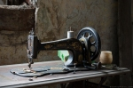 Singer Sewing machine House of the Soldier's Widow Wales Urbex Urban exploration Adam X Urban Exploration Photo photos photographs UK March 2015 report abandoned disused derelict decay decayed