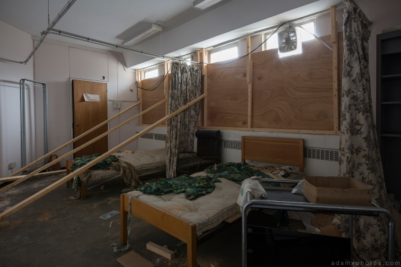 Sick room Sovereign House HMSO Norwich Urbex Adam X Urban Exploration 2015 Abandoned decay lost forgotten derelict