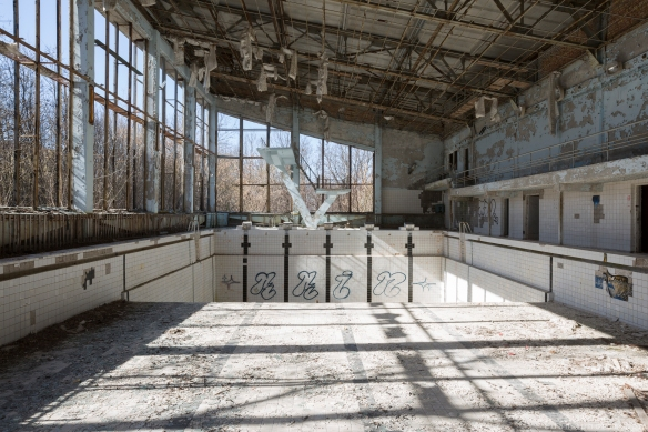 swimming pool lazurny Chernobyl Pripyat Urbex Adam X Urban Exploration 2015 Abandoned decay lost forgotten derelict