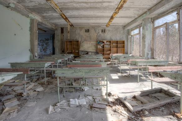 classroom elementary school 2 Chernobyl Pripyat Urbex Adam X Urban Exploration 2015 Abandoned decay lost forgotten derelict