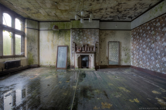 wallpaper decay mould grimy camping St Joseph's Seminary Joe's Upholland Urbex Adam X Urban Exploration 2015 Abandoned decay lost forgotten derelict