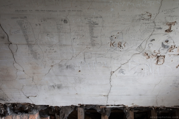 old graffiti pupils attic camping St Joseph's Seminary Joe's Upholland Urbex Adam X Urban Exploration 2015 Abandoned decay lost forgotten derelict