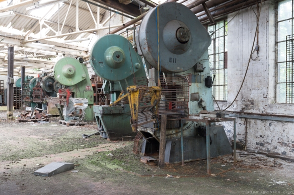 machinery West Bromwich Spring Company Helical Works Springs industry industrial Urbex Adam X Urban Exploration 2015 Abandoned decay lost forgotten derelict