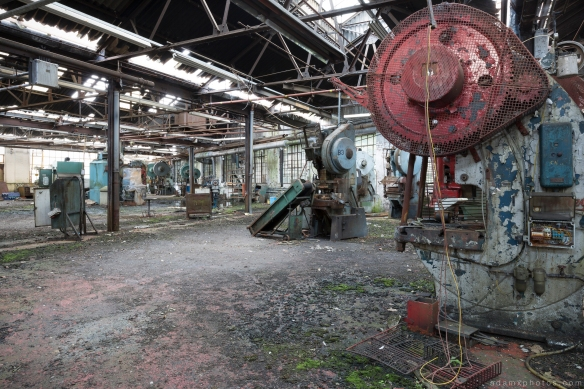 West Bromwich Spring Company Helical Works Springs industry industrial Urbex Adam X Urban Exploration 2015 Abandoned decay lost forgotten derelict