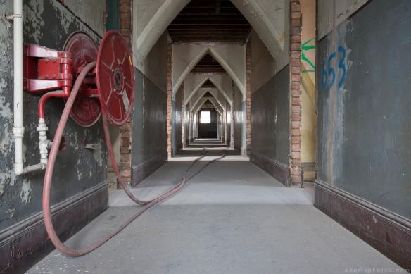 Corridor The Grand Hotel Birmingham Urbex Adam X Urban Exploration 2015 Abandoned decay lost forgotten derelict