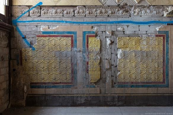 Tiles vintage victorian retro The Grand Hotel Birmingham Urbex Adam X Urban Exploration 2015 Abandoned decay lost forgotten derelict