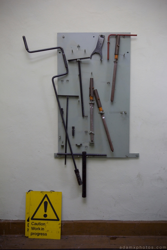 Tools RAF Neatished Norfolk R12 bunker Urbex Adam X Urban Exploration 2015 Abandoned decay lost forgotten derelict