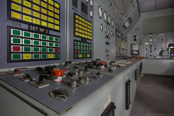 Control room dials light painting RAF Neatished Norfolk R12 bunker Urbex Adam X Urban Exploration 2015 Abandoned decay lost forgotten derelict