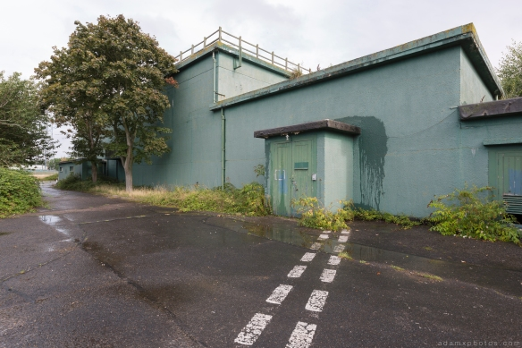outside exterior RAF Neatished Norfolk R12 bunker Urbex Adam X Urban Exploration 2015 Abandoned decay lost forgotten derelict