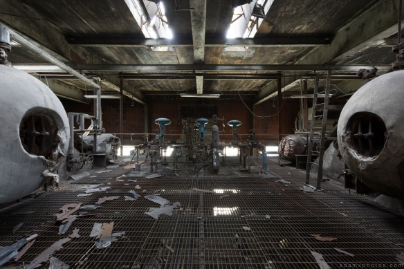 Death Star Stars Lostock Power Station Plant Northwich Industrial Industry infiltration Urbex Adam X Urban Exploration 2015 Abandoned decay lost forgotten derelict