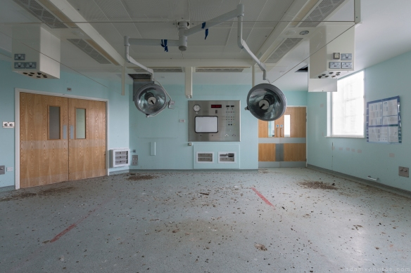 Operating Theatre lights Royal Hospital Haslar Gosport History Naval Navy Military Hospital Urbex Adam X Urban Exploration Infiltration Access 2015 Abandoned decay lost forgotten derelict