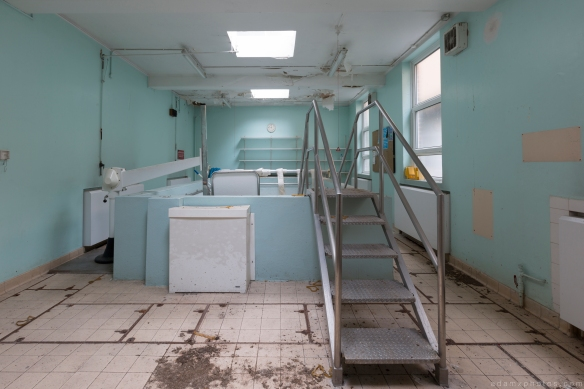 Rehabilitation hydrotherapy pool recovery recuperation Royal Hospital Haslar Gosport History Naval Navy Military Hospital Urbex Adam X Urban Exploration Infiltration Access 2015 Abandoned decay lost forgotten derelict