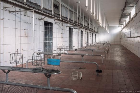 Shower room Baskets kaue Zeche M Zeche Heinz Mine Bergwerk Germany Deutschland Urbex Adam X Urban Exploration Access 2016 Abandoned decay lost forgotten derelict