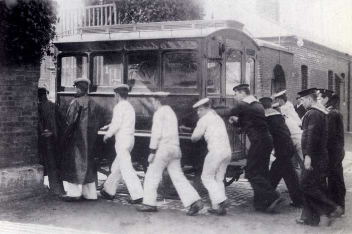 Royal Hospital Haslar old photos photographs tramway ambulance tram