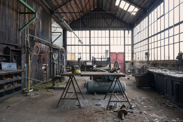 workshop Usine S Belgium Textile Wool Factory Urbex Adam X Urban Exploration Access 2016 Abandoned decay lost forgotten derelict