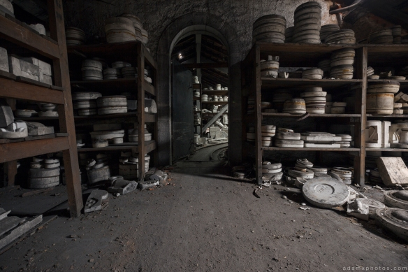Faiencerie S Poterie S Poterie DGM Urbex Pottery ceramics ceramic factory France Adam X Urban Exploration Access 2016 Abandoned decay lost forgotten derelict location