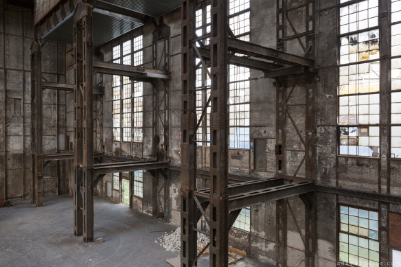 Gantries broken windows stripped Kraftwerk Plessa Urbex Powerplant Germany Adam X Urban Exploration Access 2016 Abandoned decay lost forgotten derelict location