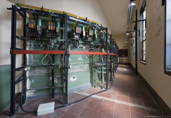 Switches back off control room Kraftwerk Plessa Urbex Powerplant Germany Adam X Urban Exploration Access 2016 Abandoned decay lost forgotten derelict location