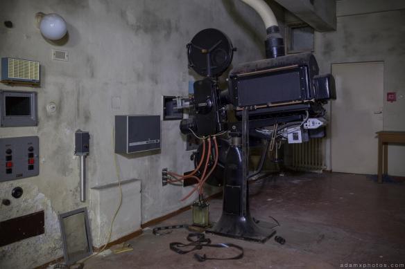 Projector Salem Sanatorium Urbex Germany Adam X Urban Exploration Access 2016 Abandoned decay lost forgotten derelict location Deutschland