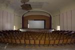 Theatre Auditorium cinema stage chairs seating Salem Sanatorium Urbex Germany Adam X Urban Exploration Access 2016 Abandoned decay lost forgotten derelict location Deutschland